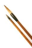 Chinese inkpainting brush Stock Photos
