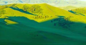 Chinese Inner Mongolia dam prairie Stock Photography