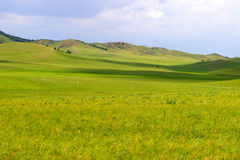 Chinese Inner Mongolia dam prairie Stock Photos