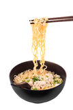 Chinese instant noodle with minced pork Stock Photo