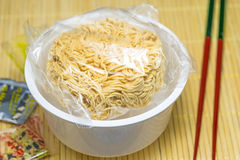 Chinese instant noodle soup Stock Image