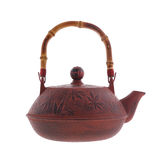 Chinese iron black traditional teapot Royalty Free Stock Photography
