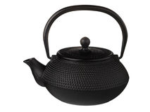 Chinese iron teapot Stock Photography