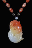 Chinese jade pendant Stock Images