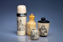 Chinese jars Stock Image