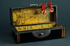 Chinese jewelry box Royalty Free Stock Photo