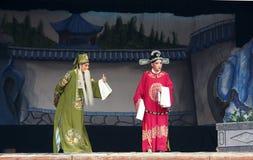 Chinese Jin Opera. 2011-8-24 to 2011-8-26, the theatergoers performed traditional drama (Jin Opera) in Dadongliu village, Taiyuan, Shanxi, China stock photos