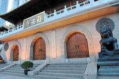 Chinese jingan golden temple Stock Image