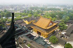 Chinese Jinshan Temple. Chinese temple which name is Jinshan Temple, Zhenjiang city Jiangsu province stock photos