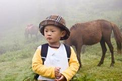 Chinese jongen Royalty-vrije Stock Afbeelding