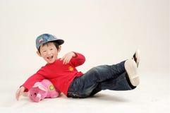 Chinese jongen Stock Foto's