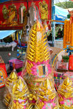 Chinese Joss paper / Gold and silver paper in Chinese culture Royalty Free Stock Photography