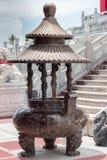 Chinese joss stick pot Royalty Free Stock Photos