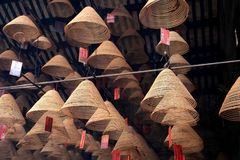 Chinese joss sticks Royalty Free Stock Images