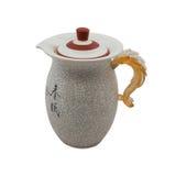 Chinese jug Royalty Free Stock Image