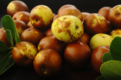Chinese jujubes fruits Royalty Free Stock Photography