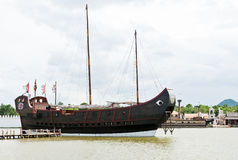 Chinese junk boat Stock Images