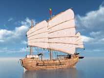 Chinese Junk Stock Image