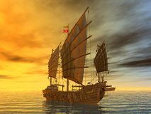 Chinese Junk Stock Images