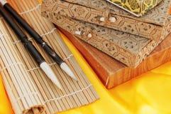 Chinese kalligrafie Royalty-vrije Stock Fotografie