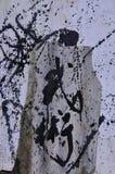 Chinese Kalligrafie - Vechtsporten Stock Fotografie