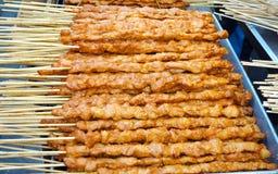 Chinese kebabs Stock Image