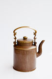 Chinese kettle. The hot tea in chinese kettle Stock Image