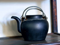 Chinese kettle Stock Image