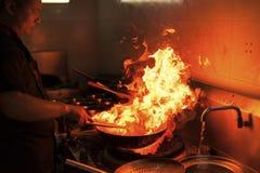 Chinese keuken Stock Fotografie