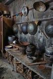 Chinese keuken oude dagen Royalty-vrije Stock Foto