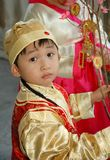 Chinese kid royalty free stock image