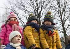 Chinese kinderen Stock Foto