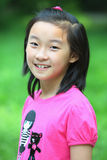 Chinese kindglimlach royalty-vrije stock fotografie