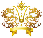 Chinese King crown Stock Photos
