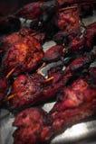 Chinese Kippenkebabs royalty-vrije stock afbeeldingen