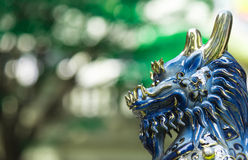 Chinese Kirin guardian statue Royalty Free Stock Photos