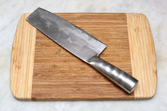 Chinese kitchen knife Royalty Free Stock Photo