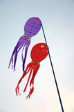 Chinese kite. This is a chinese kite ,looks like the octopus stock photo