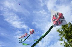 Chinese kites Stock Photo