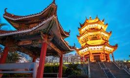 Chinese Klassieke Architectuur stock foto's
