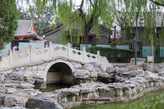 Chinese klassieke tuin Stock Foto