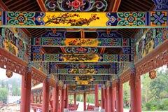 Chinese Kleurrijke Patronen stock foto's