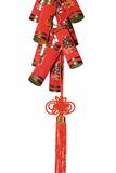 Chinese knick-knack. For Chinese new year on white background Stock Photography