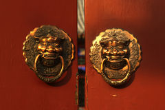 Chinese knocker Royalty Free Stock Image