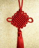 Chinese knot. Stock Photo
