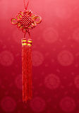 Chinese Knot Hanging Decoration Stock Images