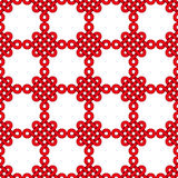 Chinese knot seamless pattern Stock Images
