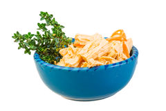 Chinese or korean Yuba (tofu bamboo) Stock Photo