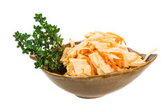 Chinese or korean Yuba (tofu bamboo) Stock Image