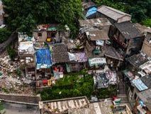 Chinese krottenwijk royalty-vrije stock fotografie